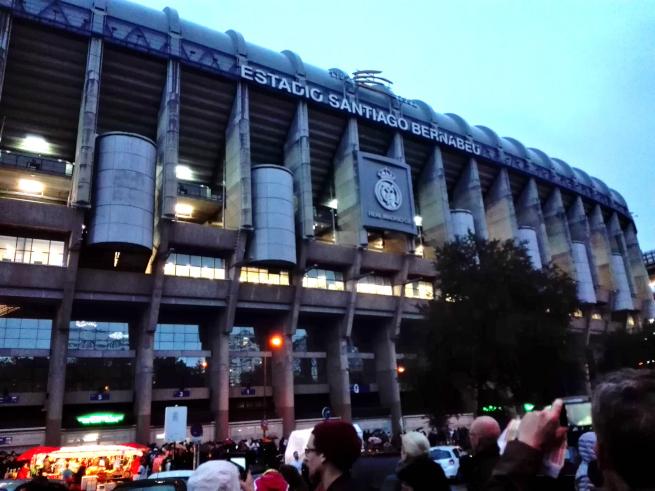 サンティアゴベルナベウスタジアム