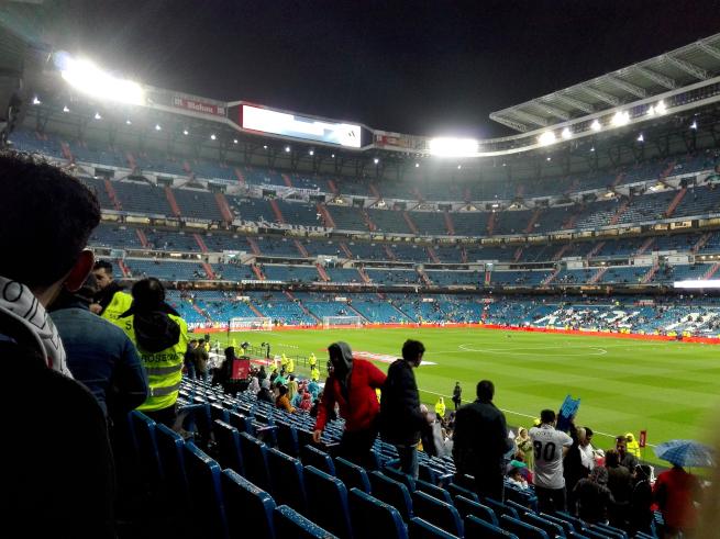 レアルマドリードのホームスタジアム