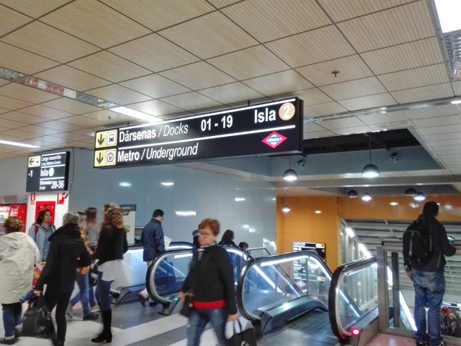 マドリードのバスステーション