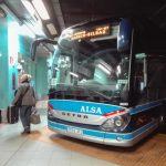 スペインのマドリードからビルバオまでバスで移動する方法&バスク語で書かれたビルバオの地下鉄の乗り方