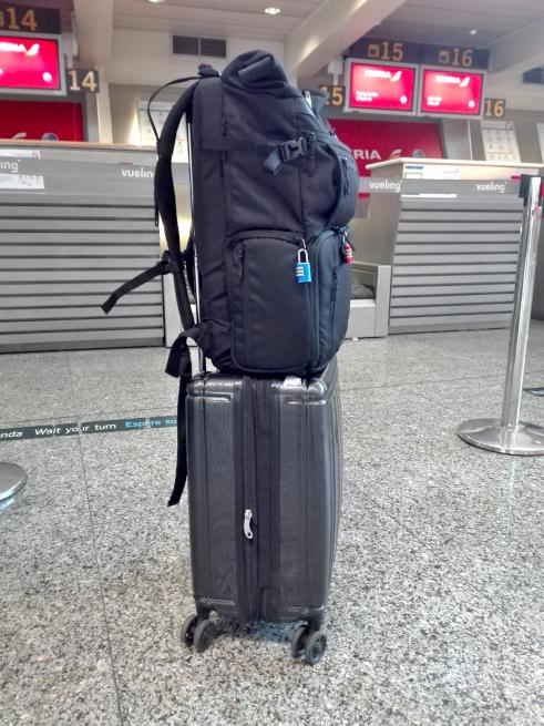 スペイン旅行の荷物