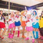 バルセロナの日本イベントサロンデルマンガにスペインの美女コスプレーヤーが集結