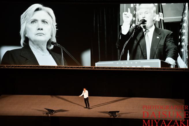 アメリカ大統領選挙について話す高城剛