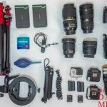 写真が好きな旅人向け!トラベルフォトグラファーが使用するカメラ機材リスト(一眼レフ、レンズ、三脚、ストロボ)
