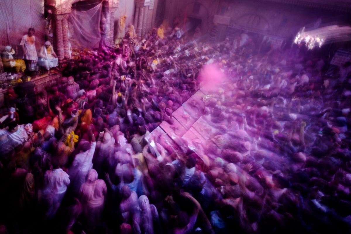 インドとネパール2週間旅行の写真のインプレッション数は42万回でした