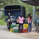 中南米パナマの村と町で野菜の流通経路の市場調査をした。