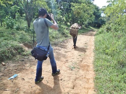 JICAのカメラマン