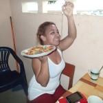 海外に長野県をPR!パナマの村で蕎麦が美味しい信州の名物料理天ざるを作ってみた!