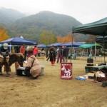 自然食材やアフリカンダンス!長野県伊那市高遠ほりでいパークのイベント虹の市