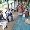 焼畑農業禁止!協力隊の同期とパナマ運河の水源アラフエラ湖畔の稲作を調査した。